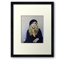 Stevie Nicks Fan Art Framed Print