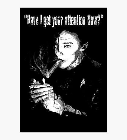 Star Trek Into Darkness - Khan Photographic Print