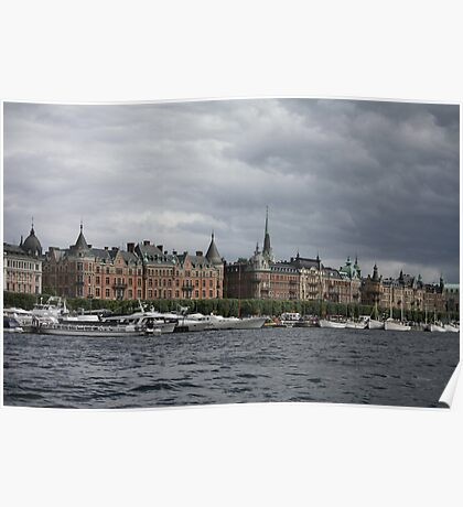The Stockholm Waterfront Poster
