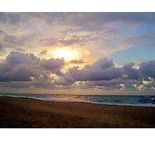 I Love the Beach Photographic Print