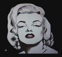 Marilyn Monroe by bournemonkey