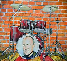 Phil Collins Fan Art by Marina Coffey