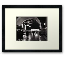 Union Station - Los Angeles, California USA Framed Print