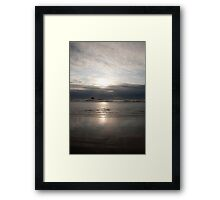 sunsets are beautiful..even if photographed so often one could puke! Framed Print