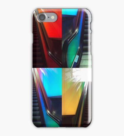 Escalators-collage iPhone Case/Skin