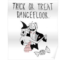Cherry Glazerr Trick or Treat Dancefloor Poster