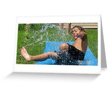 Summer Water Fun Greeting Card