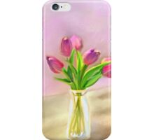 Painted Tulips iPhone Case/Skin