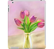 Painted Tulips iPad Case/Skin