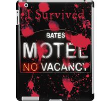 Bates Motel - I Survived! - T-shirt iPad Case/Skin
