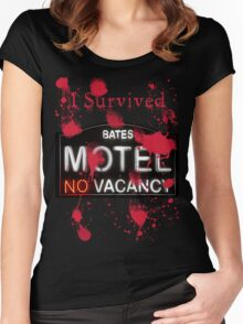 Bates Motel - I Survived! - T-shirt Women's Fitted Scoop T-Shirt