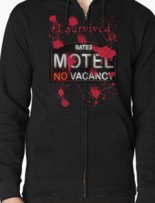 Bates Motel - I Survived! - T-shirt Zipped Hoodie