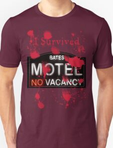 Bates Motel - I Survived! - T-shirt Unisex T-Shirt