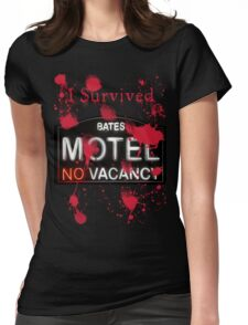 Bates Motel - I Survived! - T-shirt Womens Fitted T-Shirt