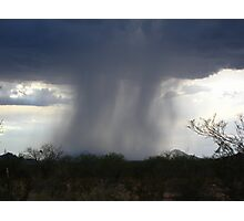 Isolated Showers.... Photographic Print