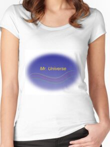 Mr. Universe Women's Fitted Scoop T-Shirt