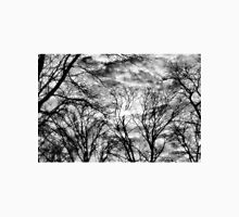 Sun, Clouds, and Winter Trees T-Shirt
