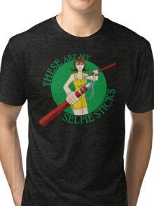 Final Fantasy VIII - Selphie Sticks Tri-blend T-Shirt