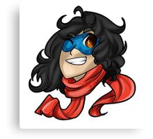Ms. Marvel Bust Canvas Print