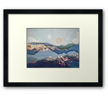 Rolling Mountains Framed Print