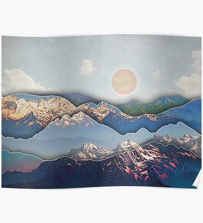 Rolling Mountains Poster