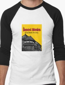 The Haunted Mansion of Long Branch NJ Men's Baseball ¾ T-Shirt