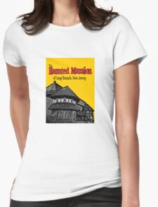 The Haunted Mansion of Long Branch NJ Womens Fitted T-Shirt