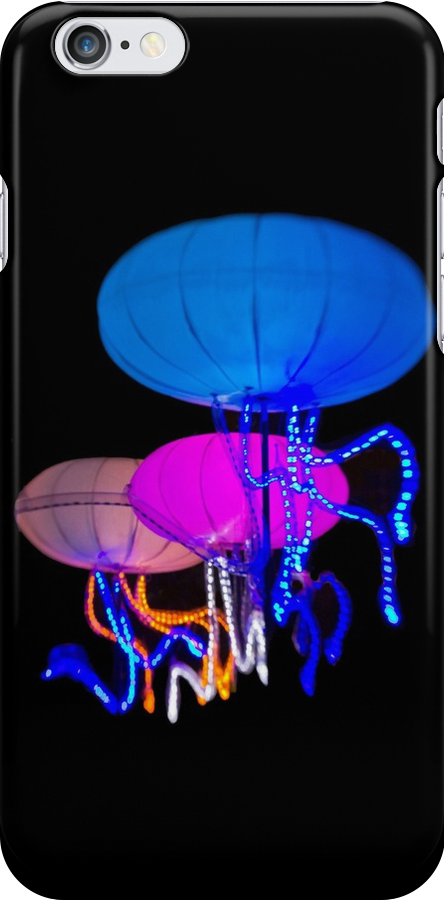 The Jellies - Sydney Vivid Festival - iPhone Case by Bryan Freeman