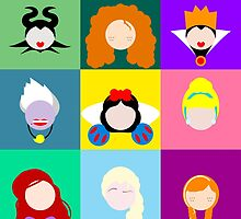 Disney Icons by Meagan Snee