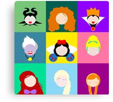 Disney Icons Canvas Print