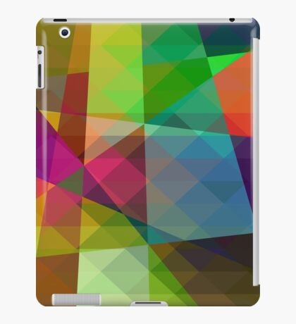 Colorful Geometric Abstract Pattern iPad Case/Skin