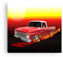 65 Ford Fire 1 Canvas Print