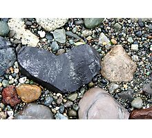 My Heart Is A Rock Photographic Print