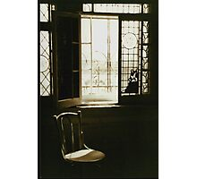 Chair by the window Photographic Print