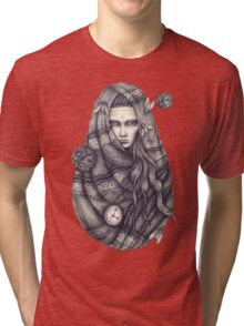Time Does Not Exist -Tee Tri-blend T-Shirt