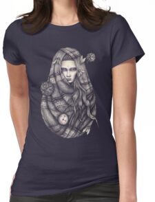 Time Does Not Exist -Tee Womens Fitted T-Shirt