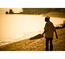Che Nono at the lakeshore, Meponda Photographic Print