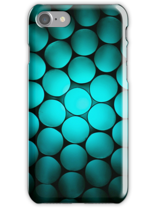 Just Green Or Aqua - iPhone Case by Bryan Freeman