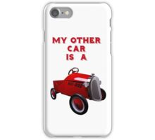My Other Car Is A  Hot Rod (on white) - iPhone Case iPhone Case/Skin