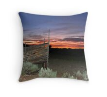 End of the drive Throw Pillow