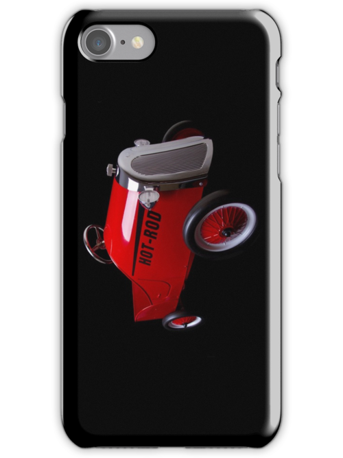 Hot Rod (on black) - iPhone Case by Bryan Freeman