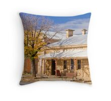 Telegraph Station at Beechworth Throw Pillow