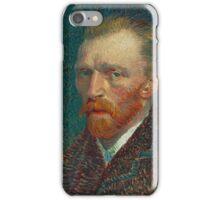 Vincent Van Gogh self portait iPhone Case/Skin