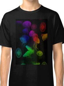 Jellyfish Rainbow Classic T-Shirt