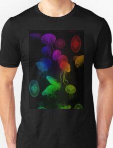 Jellyfish Rainbow Unisex T-Shirt