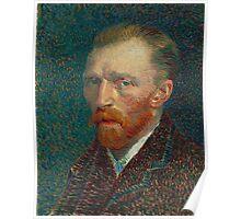 Vincent Van Gogh self portait Poster