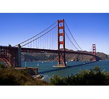 Golden Gates north and south towers Photographic Print