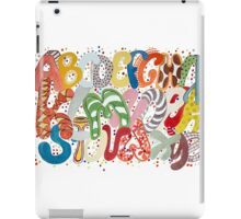 Party Alphabet iPad Case/Skin