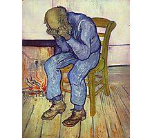 Vincent Van Gogh at eternity's gate  Photographic Print