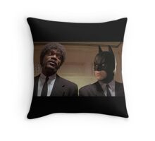 Pulp Fiction - It's Better With Batman Throw Pillow